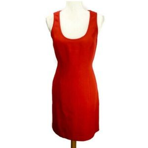 Michael Kors Bright Red cocktail dress size 8